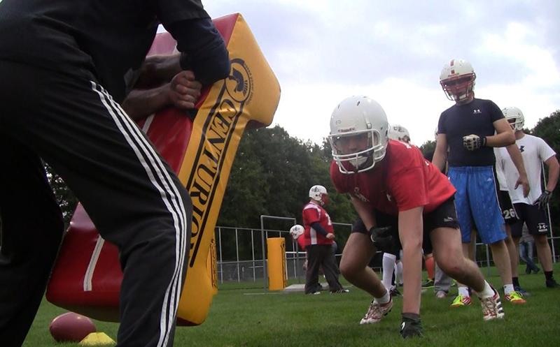 Utrecht Dominators proeflessen American Football tryouts TowerAbove AFBN