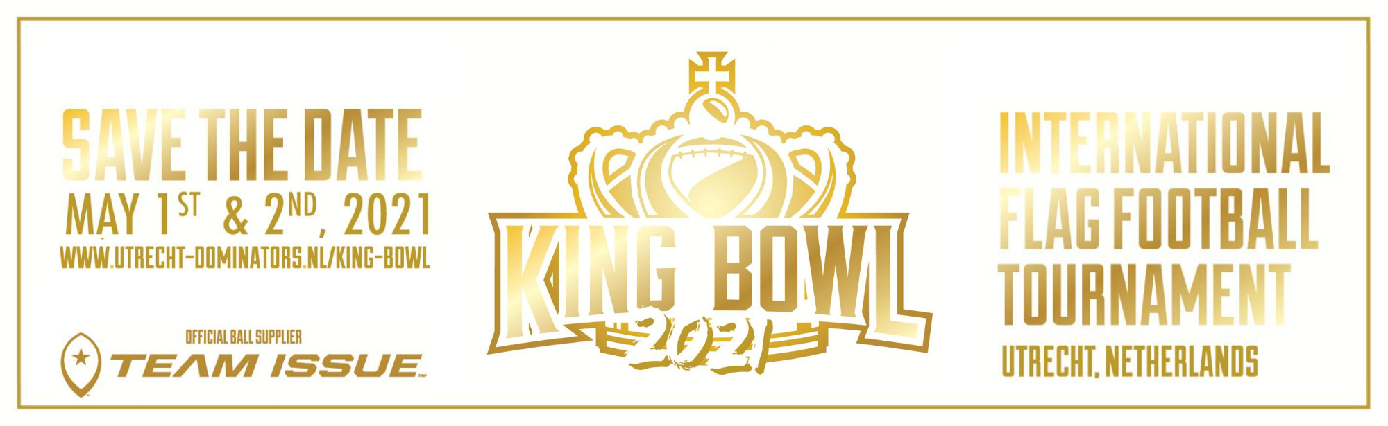 Banner King Bowl 2021 ClaimtheCrown flag football