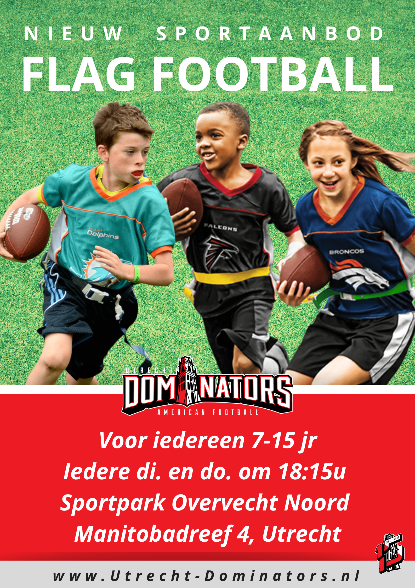 Kom en doe mee met flag football